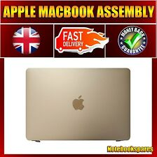 "Refurbished Macbook A1534 12"" LED Screen Panel Assembly 2015 LSN120DL01 Gold"