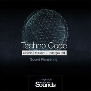 Techno Code   Sound Library   WAV format   10G of Inspiring Sounds   Production