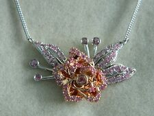 Clogau 9ct Welsh Gold Imperial Rose Pink Sapphire Necklace