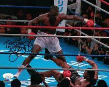 Buster Douglas Autographed/Signed Boxing 8x10 Photo Tyson KO JSA PF 24012