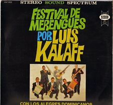 "LUIS KALAFF ""FESTIVAL DE MERENGUES"" LATIN JAZZ FRENCH LP SEECO 9252"