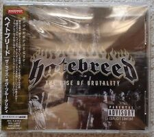 HATEBREED - The rise of brutality JAPAN CD (Hardcore, Metalcore)