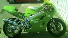 Kawasaki ZXR400 L 1991-99 A16 Exhaust Stainless ROAD LEGAL inc Removable Baffle