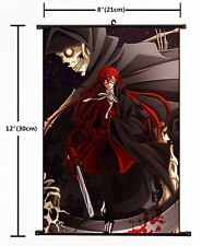 HOT Anime Black Butler Grell Wall Poster Scroll Home Decor Cosplay 1859