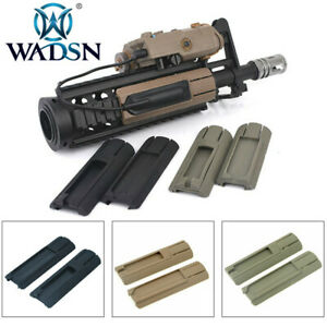 WADSN Tactical Pocket Panel Remote Switch Rail Pads Set Light Fit For 20mm Rails