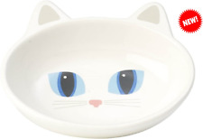 New listing Stone Cat Food Plate 5.5 Inch Width and 1.5 Inch High with a Capacity of 5.3