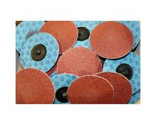 "Roloc Grinding Sanding Disc 3"" 40 Grit Aluminum Oxide (AO) 25pc  #730q25"
