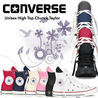 Converse Women  Men Unisex All Star High Top  Chuck Taylor Trainers Shoes