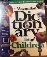 Macmillan Dictionary for Children PC Windows & Mac CD-ROM NEW