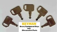 5 John Deere Agricultural Tractor Equipment Ignition Keys RE183935 Champion