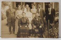 RPPC Cornelius Oregon Family Photo 1910 to Wagner in Portland Postcard C17