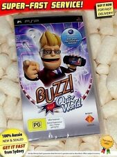 NEW! Buzz Quiz World for Sony PSP party games RARE childrens kids toys trivia
