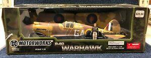 Motorworks P-40 Warhawk 1/18 scale No 10163