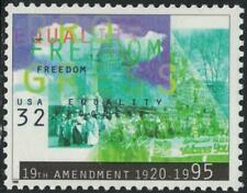 Scott 2980- Women's Suffrage, Equality Progress- MNH 1995- 32c mint unused stamp