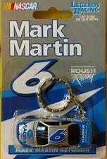 Atlas Racing Legends Nascar Mark Martin #6 Viagra 1:87 Keychain FREE SHIPPING