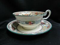 Wedgwood Ventnor W996, Fruit Urns & Swags: Cup & Saucer Set, As Is