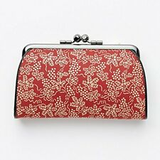 [INDEN-YA] Coin purse leather Red 1501 made in Japan
