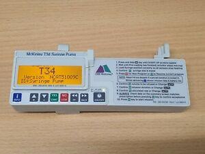 McKinley T34 Syringe ambulatory syringe pump