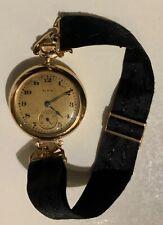 1916 Genuine Elgin Woman's Watch 15 Jewel 14k Gold Grade 404 Size 10s Original