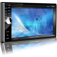 Autoradio Bluetooth DAB+ Navigation mit Bildschirm Navi 2 DIN USB MP3 SD WMA