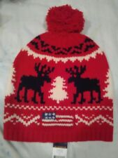 Polo Ralph Lauren Men's Reindeer Wool Cap Red, OS