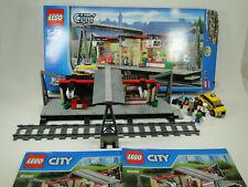 Lego City Eisenbahn 60050 Bahnhof mit Taxi komplett mit Anleitung OBA + OVP