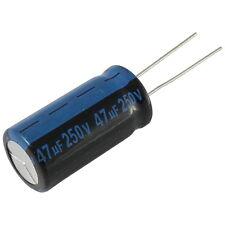 5 Elko Condensateur radial JAMICON tk 47uf 250v 105 ° C 856948