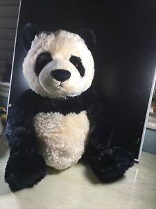 "Gund Zi Bo Panda Bear Plush Toy Stuffed Animal Teddy NWOT 18"" Lovey Soft"