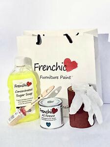 Frenchic Al Fresco Chalk Mineral Paint kit Composite UPVC Door inc 250ml tin