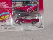 NEW JOHNNY LIGHTNING MUSCLE CARS 1969 CHEVY CAMARO CONVERTIBLE