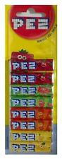 Pack Of 8 PEZ Refills Fruit Flavour Sweets For PEZ Dispenser - New