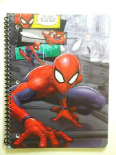 Marvel Spiderman 1 Subject Notebook, 10.5 X 8, 70 Wide Ruled Sheets