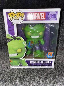 "Funko Pop!  Marvel Super Heroes Immortal Hulk PX 6"" Pop Vinyl Figure #840"