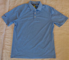 Nwot Nike Fit Golf Polo,Dri Fit,Ply Dry,Cool,S/S Shirt,Medium Men,Blue,Excellent