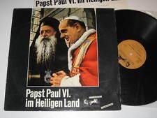 LP/PAPST PAUL VI im heiligen Land /70994 Ariola Athena 70994 IW MEGARAR