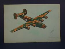 Consolidated Liberator B-24D WWII Airplane Print by Harry Jaffee, Rudolf Lesch