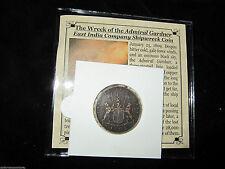 1-1808 Sunken Treasure Coin Shipwreck of the Admiral Gardner w COA Premium Grade