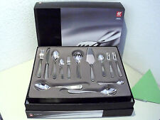 ZWILLING J. A. HENCKELS CUTLERY 68 PIECES GREENWICH MAT BRUSHED  STAINLESS STEEL