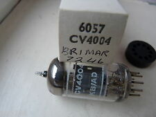6057 cv4004 BRIMAR 12AX7WA ECC83 NEW OLD STOCK VALVOLA TUBE n13-3