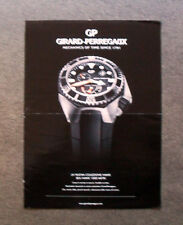 M524 - Advertising Pubblicità - 2013 - GP , GIRARD PERREGAUX COLLEZIONE HAWK