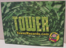 Tower Records Videos Books Store 2002 Shamrocks Leprechaun Promo Postcard