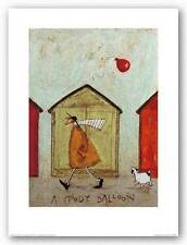 DOG ART PRINT A Moody Balloon Sam Toft