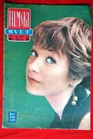 SHIRLEY MACLAINE ON COVER 1964 RARE EXYU MAGAZINE