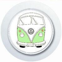 CAMPER VAN GREEN CAR TAX DISC HOLDER REUSABLE