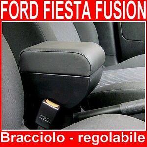 BRACCIOLO per FORD FIESTA 02-08 FUSION mittelarmlehne