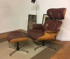 Vintage Selig Plycraft Eames Style Lounge Chair & Ottoman