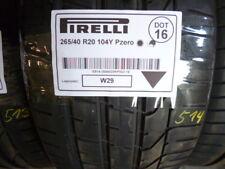 1x Sommerreifen PIRELLI 265/40 R20 104Y Pzero DOT16 - 6.5mm