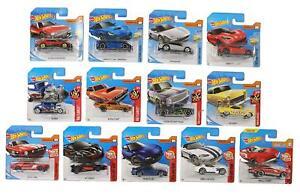 10 Stück Set Mattel Hot Wheels 1:64 Fahrzeuge Autos Rennwagen