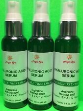3*2oz Hyaluronic Acid Serum Face Eyes Cream Vitamin E, Vitamin A, Vit C Matrixyl