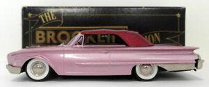 Brooklin Models 1/43 Scale BRK37 001 - 1960 Ford Sunliner - Metallic Lilac